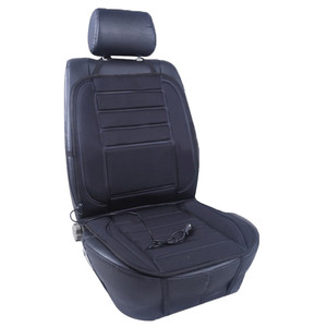 Image 5 - Universal 12V Heated Seat Heater Soft Thickening Car Seat Cushion Warmer Car Seat Cover with Temperature Controller Black