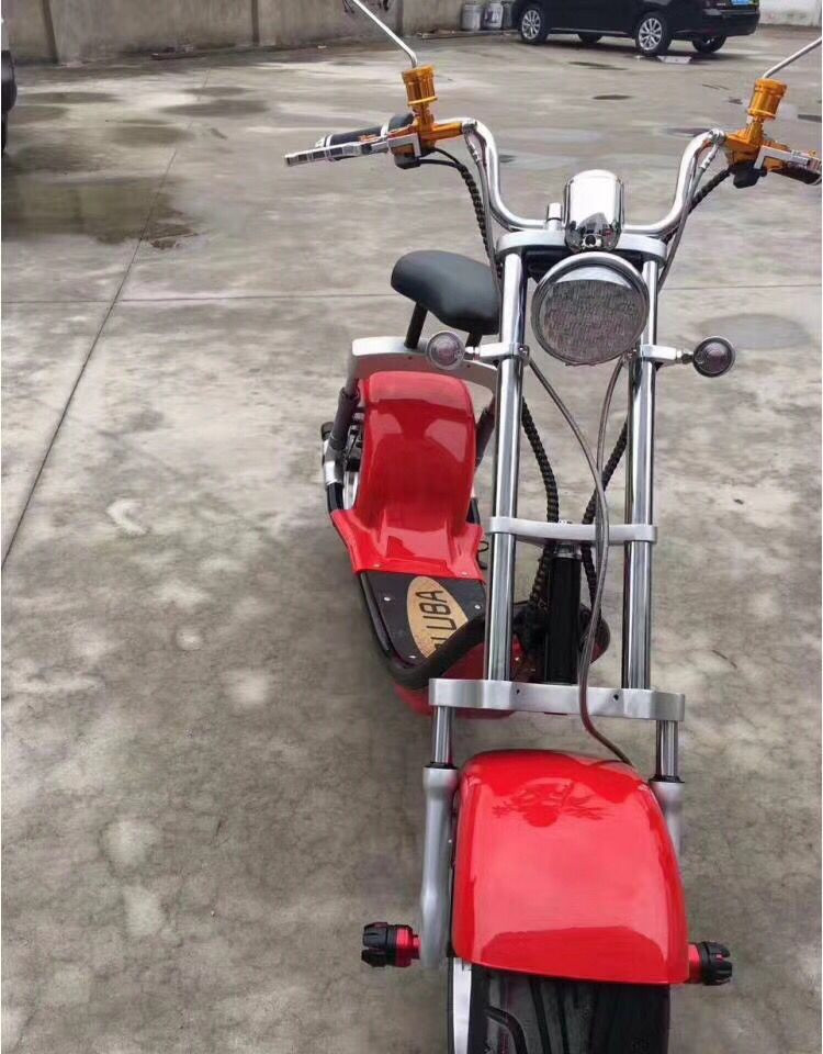 Adult Front Shock Absorber Big Battery Power electric motorcycle for adult fat tire electro scooter