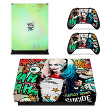 Suicide Squad Harley Quinn Skin Sticker For Xbox One X