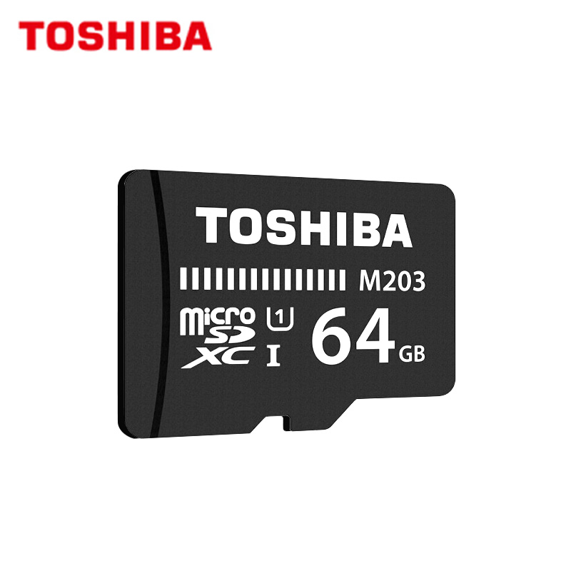 TOSHIBA Micro SD Card M203 Up To 100MB/S Memory Card UHS-I 128GB 64GB SDXC 32GB 16GB SDHC U1 Class10 FullHD TF Card For Android