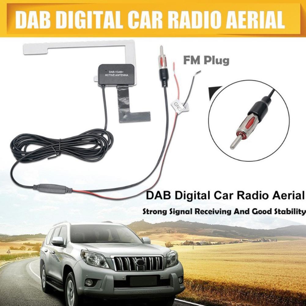 Da auto DVB-T TV FM antenna Auto Antenna antenna del veicolo di alta qualità dc12v