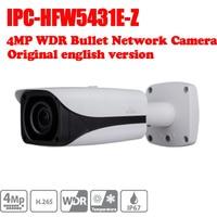 Free Shipping DAHUA IPC HFW5431E Z 4MP WDR IR Bullet Network Camera 2 7mm 12mm Motorized