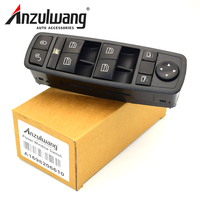 ANZULWANG Electric Power Window Master Switch For Mercedes Benz B Class W245 A Class W169 2005 2009 A1698206610 1698206610