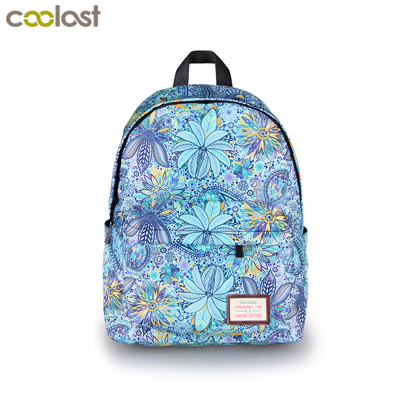 Brand Design Women Floral Backpack Female School Bags For Teenage Girls School Backpack Women Bookbag Ladies Fashion Travel Bags backpacks for teenage girls new casual women backpack high quality fashion travel school bags ladies brand designer bookbag