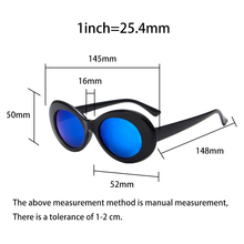 Oval Sunglasses Hip Hop