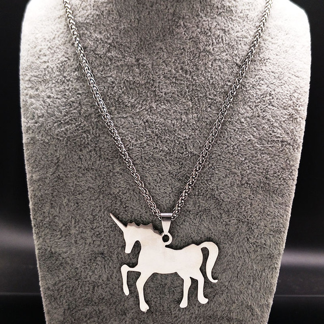 Unicorn Stainless Steel Necklace