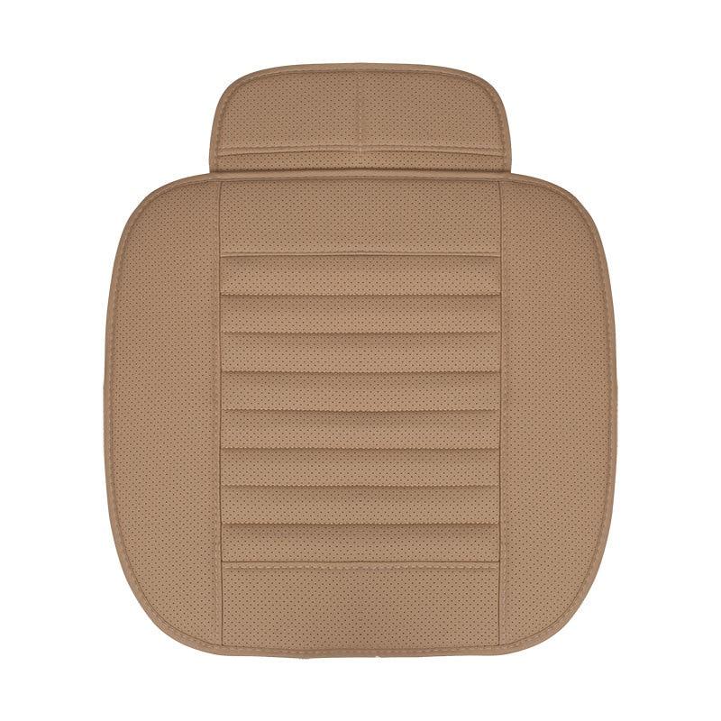 Designer de Alta Qualidade PU de Couro Do Assento de Carro Almofada Respirável Tampa de Assento Auto Universal Auto Pat Anti-slip Mat