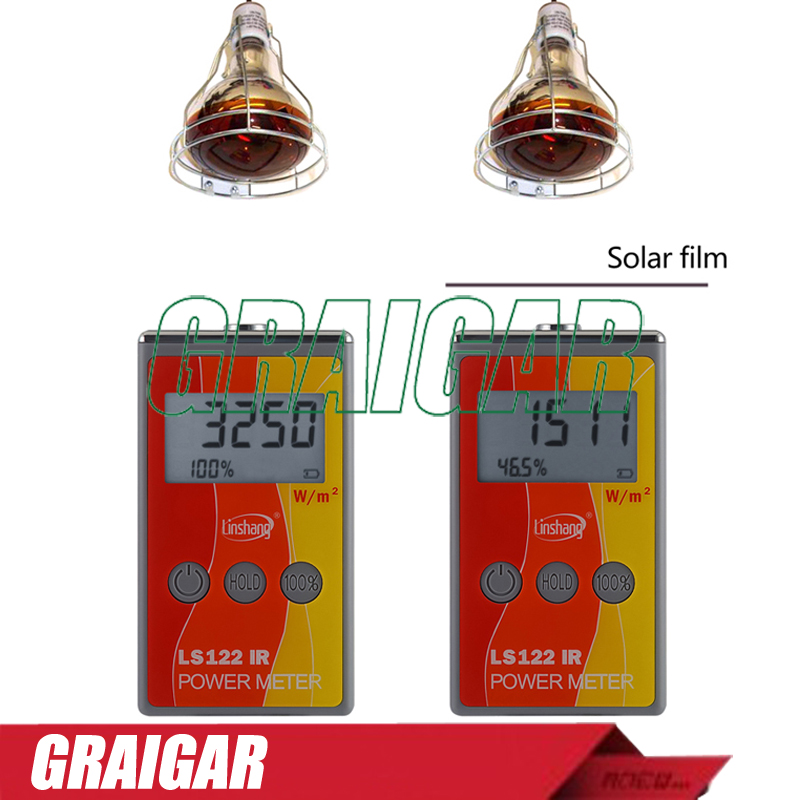 LS122 infrared power meter Infrared Radiometer sun light solar illuminance W / m2