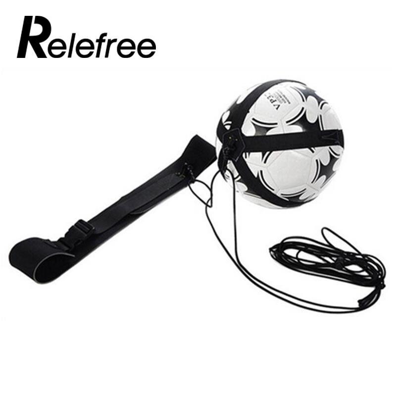 Футбол мяч жонглировать сумки детей вспомогательный ремень для велосипедного спорта дети тренировочное оборудование для футбола Kick Solo