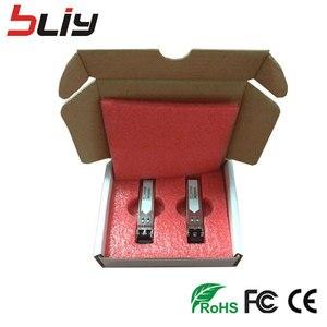 Image 4 - Bliy Módulo SFP de fibra simple conector SM 5km LC 1,25 BASE 1310nm/1550nm WDM DDM BiDi transceptor mikrotik gbic, 5 pares
