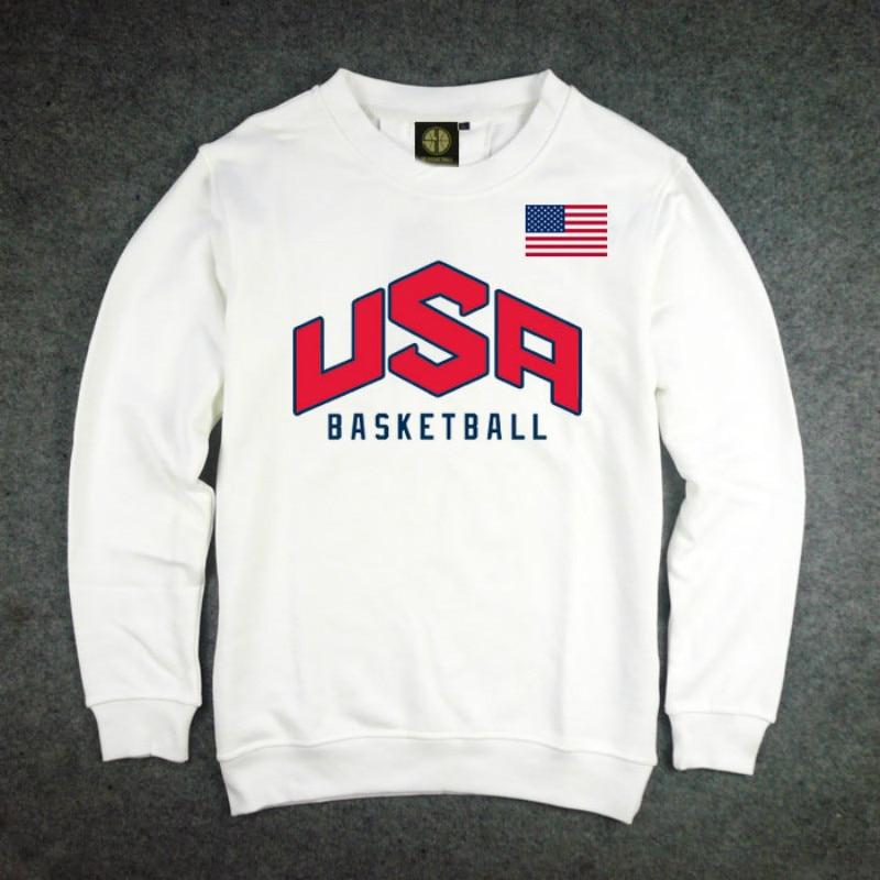 Heren Pullover VS basketbal Dream Team Sweatshirt Hoodie Effen Kleur - Herenkleding - Foto 4