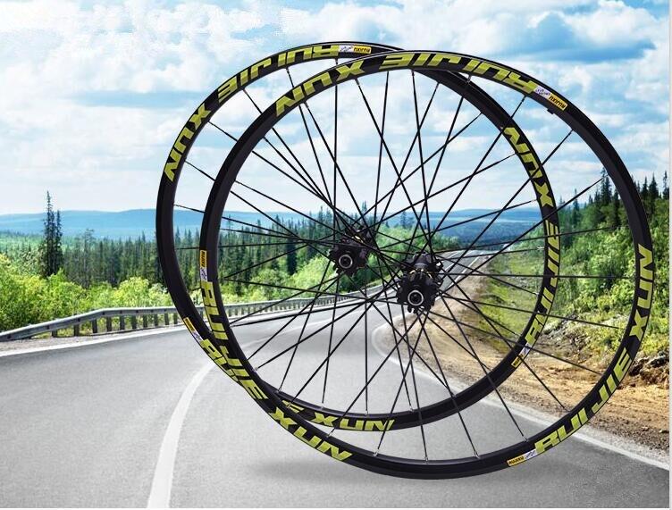 MTB wheelset straight pull front 2 rear 5 Perlin bearing CROSSDTXT mountain bike bicycle wheel set 26 27.5 29inch
