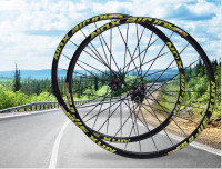 MTB wheelset straight pull front 2 rear 5 Perlin bearing CROSSDTXT mountain bike bicycle wheel set 26 27.5 29inch