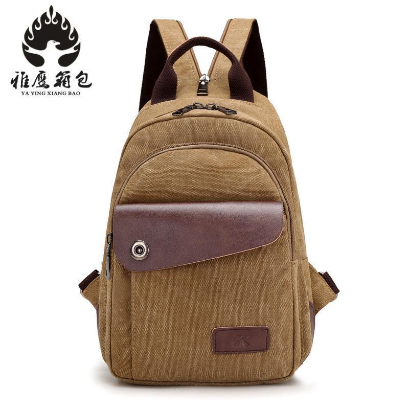 Men Women Canvas Backpack Fashion Casual Shoulder Bag Small Travel Backpacks For Male Female Rucksack School Bags Mochila new capacitive touch screen panel for 10 1 roverpad sky expert q10 3g tablet digitizer glass sensor replacement free shipping
