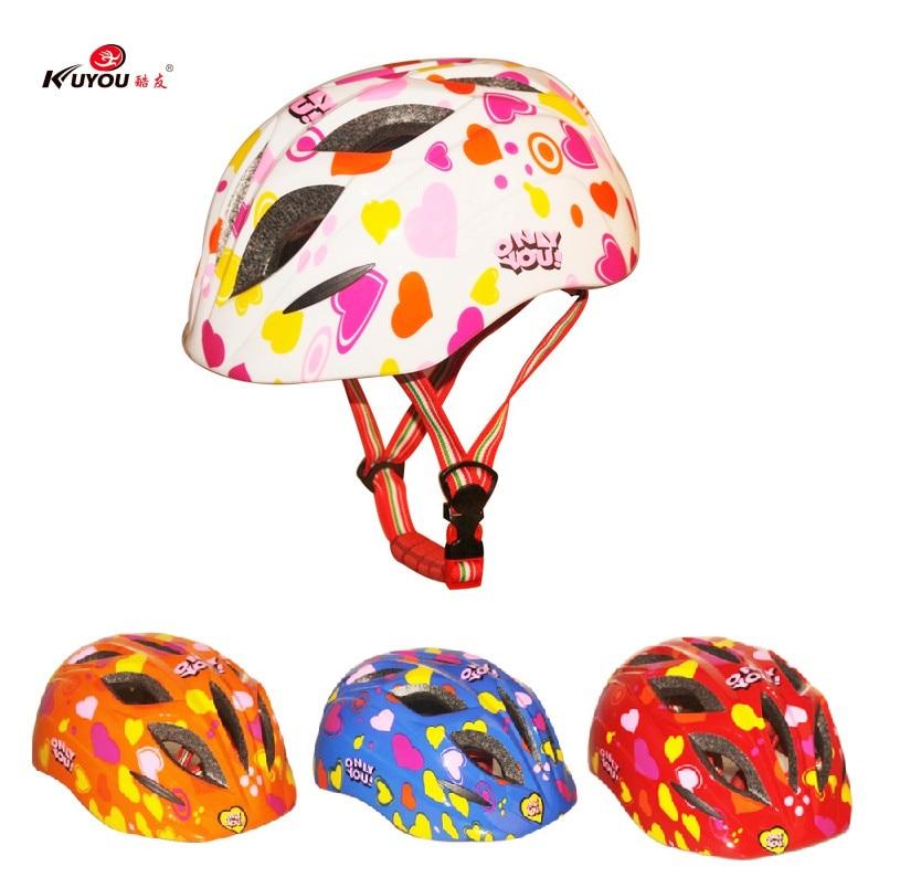 Kuyou Ultralight Dětská bezpečnost Cyklistická přilba Dětská Cyklistická přilba Cyklistická přilba Dětská cyklistika Cyklistická helma