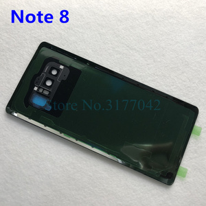 Image 3 - Note8 Note9 عودة غطاء البطارية الإسكان لسامسونج غالاكسي ملاحظة 9 N960 SM N960F ملاحظة 8 N950 SM N950F الزجاج الخلفي حالة + أدوات