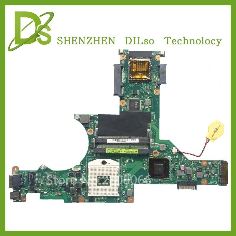 цена на KEFU U47A motherboard For ASUS U47A Q400A laptop motherboard U47A mainboard Test motherboard original motherboard
