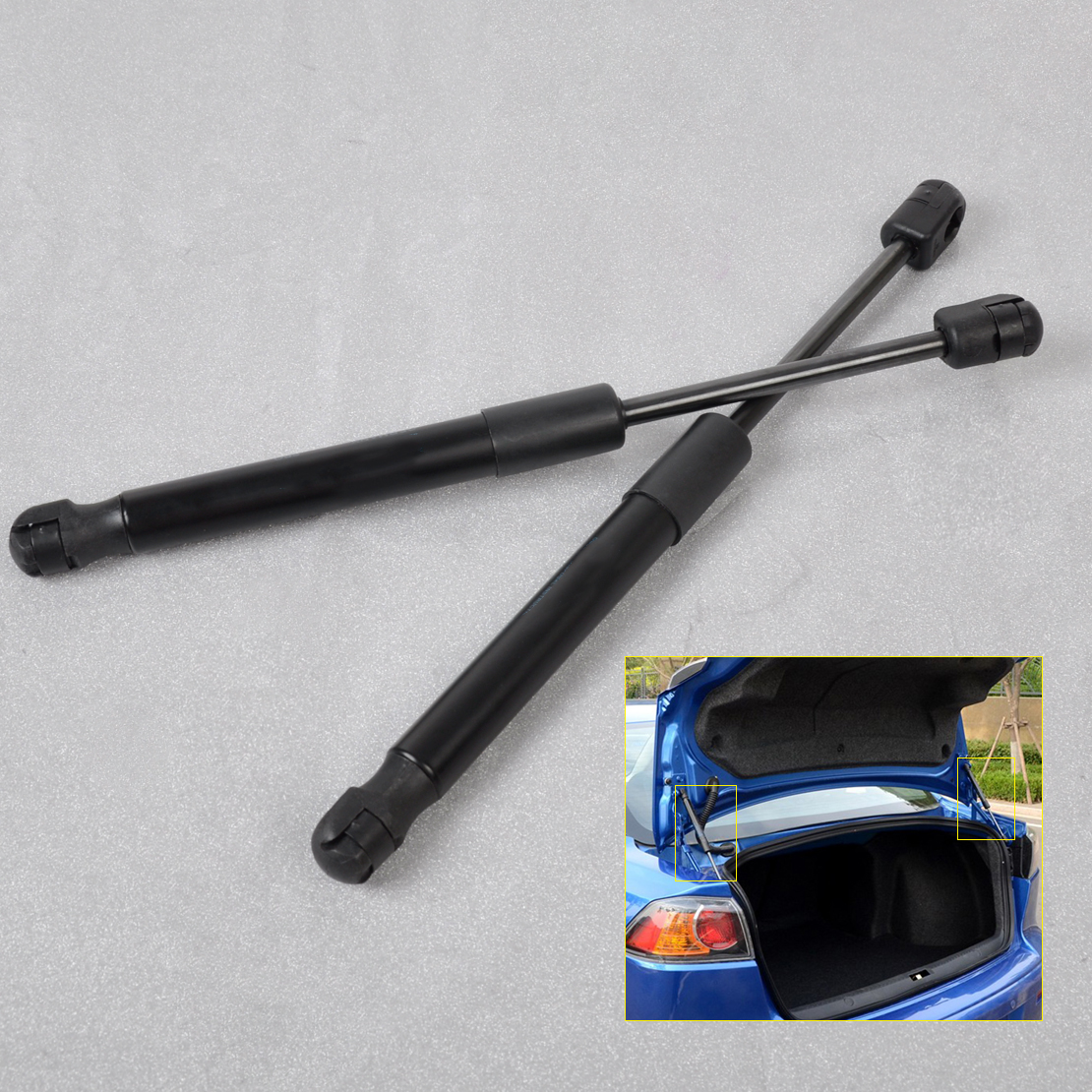 2 Pieces Tuff Support Rear Liftgate Lift Supports 2010 To 2013 Volkswagen Tiguan Cab Wagon SET