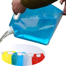 5 Litres Collapsible Water Container Bag Sports Outdoor Travel Camping
