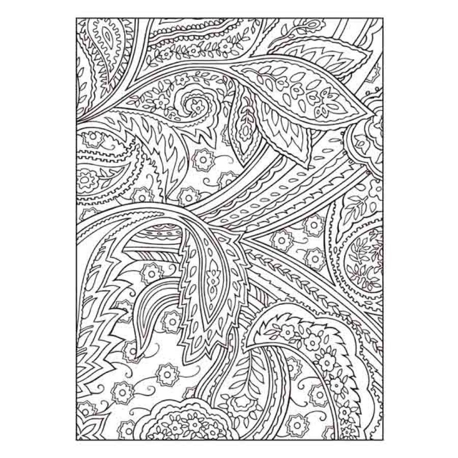 The Shape Of Leaf Coloring Book Antistress Books For Adult Relieve Stress Art Painting Drawing Graffiti Colouring In From Office