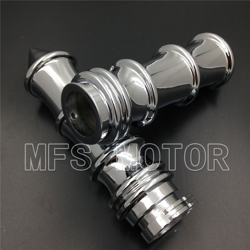 Motorcycle Part For HARLEY DAVIDSON motorcycle bike CHROME SKELETON SPIKE 1'' Hand grips