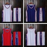 High Quality USA basketball Sets, College basketball Jerseys, fast dry Basketball Team Training uniforms, Baskt throwback Shirt