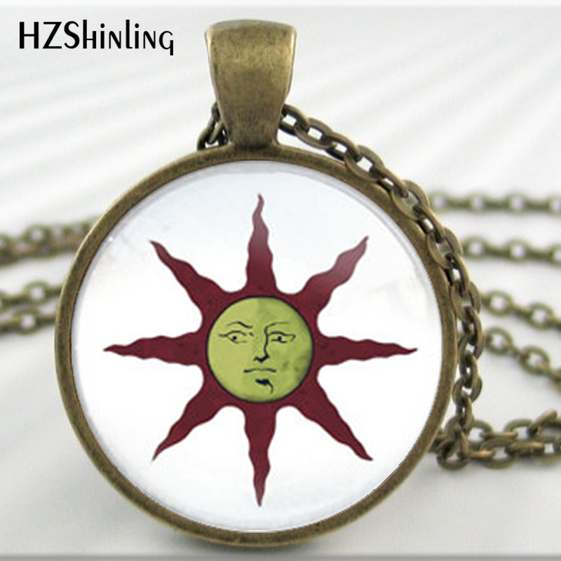 Hz a297 dark souls solaire of astora sun pendant astora sun hz a297 dark souls solaire of astora sun pendant astora sun necklace glass dome jewelry boyfriend best friend gift hz1 in pendant necklaces from jewelry aloadofball Choice Image