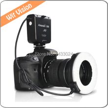 Auréola HN100 CRI 95 LED Macro Ring Flash/Luz Contínua Para D7100 D7000 D5200 D5100 D3200 D600 D800 D800E D700 D90 DSLR Camera