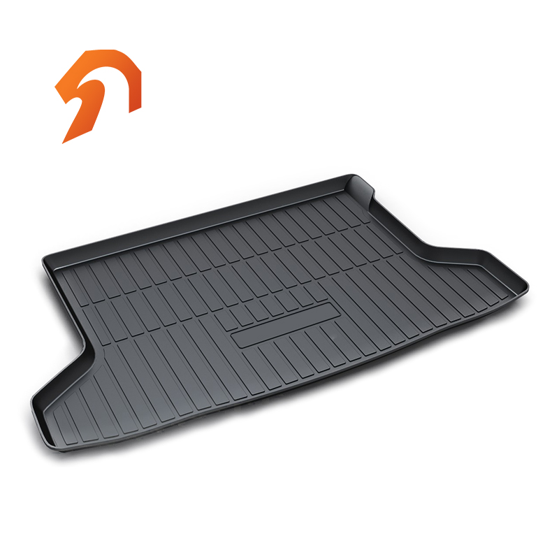 Rubber Rear Trunk Cover Cargo Liner Trunk Tray Floor Mats For Honda Honda xrv 2014-2018 Carpet Liner Mats for mazda cx 5 cx5 2nd gen 2017 2018 interior custom car styling waterproof full set trunk cargo liner mats tray protector