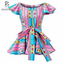 African blouse for Women fashion top traditional clothing african clothes women print shirt dashiki plus size