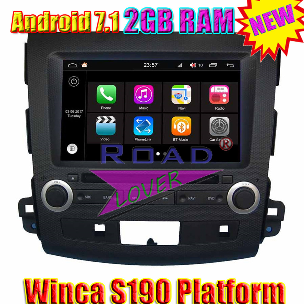 2005 Mitsubishi Outlander Stereo Radio Wiring Winca Android Car Multimedia Player For Tracker Auto Navigation Two Din In