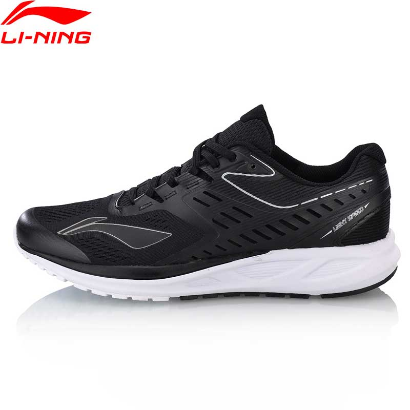 Li-Ning Men FLASH Cushion Running Shoes Anti-Slippery LiNing Breathable Sport Shoes Wearable Sneakers ARHN017 XYP669 li ning professional badminton shoe for women cushion breathable anti slippery lining shock absorption athletic sneakers ayal024