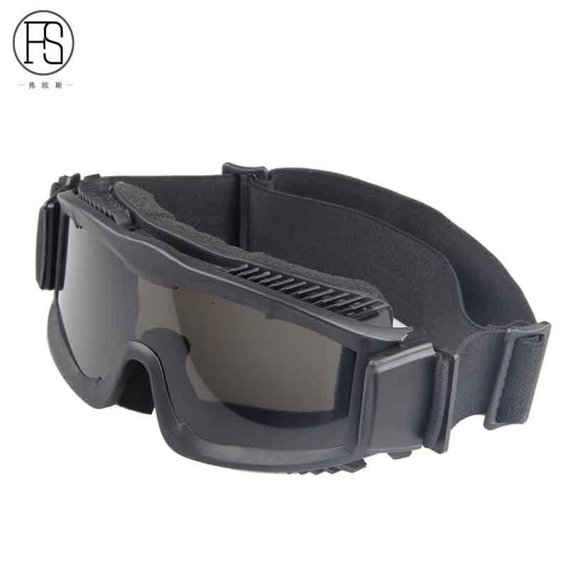 Low Price Good Quality Sport Goggles Military Activities Eyewear Mountain Bike Sunglasses Men Windproof Desert Glasses 3 Lens Orologi E Gioielli