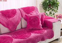 Warm Sofa Cover Velvet Armrest Slipcover Backrest Covering Material Top Fashion Sofa Towel