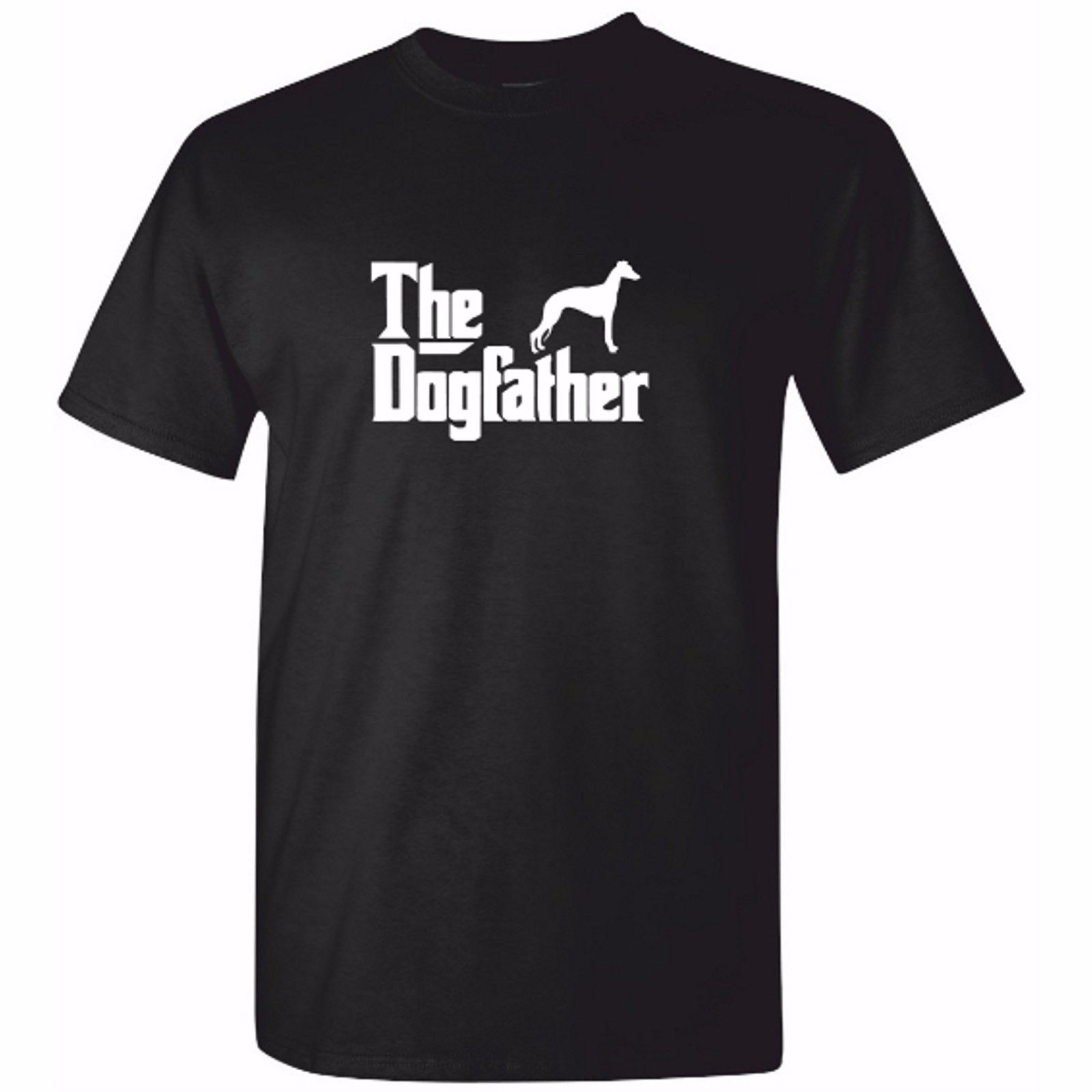 Mens Whippet / Greyhound TShirt - DOG FATHER T Shirt Clothing Present Gift