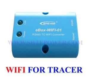 Image 2 - トレーサー 4210AN MPPT ソーラー充電レギュレータ USB ケーブル + 温度センサー 40A EPSolar MT50 と wifi 機能アプリ使用