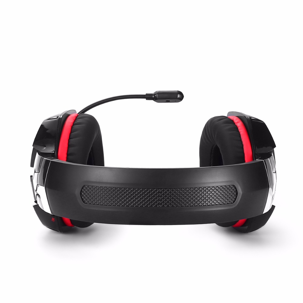 KOTION EACH G1200 stereo Game Wired 3.5mm Headphone Noise Canceling Headband Gaming Headset with Microphone for PC Laptop