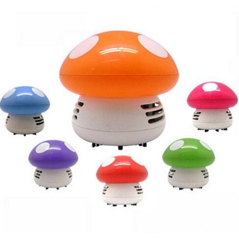 1PCS Mini Mushroom Vacuum Cleaner For Corner Desk Table Mouse Dust  Absorption(China (Mainland