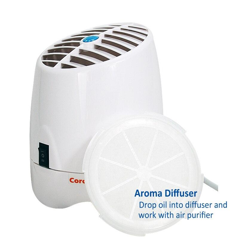 Ioniseur de Générateur D/'ozone Purificateur D/'air Home Arôme Diffuseur 200 mg//h