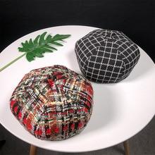 Pareja vaquero boina tapas moda artista pintor tapa octogonal otoño Newsboy  Beret sombrero d4403e1ca58