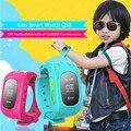 Дети Smart Watch Q50 Anti Потерянный Наручные GPS Smartband SOS Вызова GSM Расположение Finder Locator Tracker для iOS Android