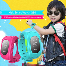 Children Kids Smart Watch Q50 Anti Lost Wristwatch GPS Smartband SOS Call GSM Location Finder Locator Tracker for iOS Android