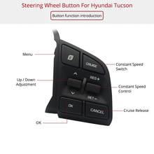 Acessórios de Modificação de carro Novo Cruzeiro Velocidade Constante  Módulo Multi-funcional Botão do Volante Para Hyundai Tucso. 9668b38e9d7a5