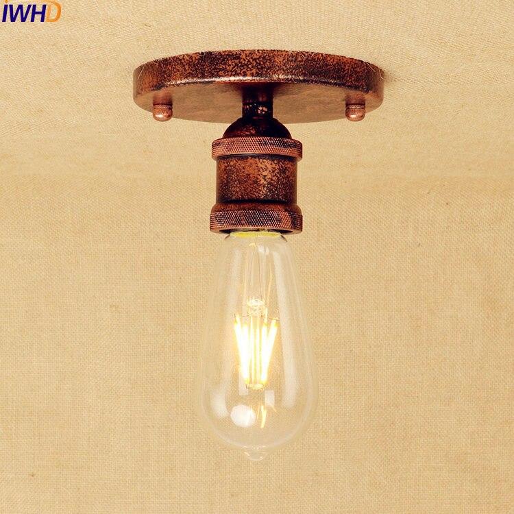 Iwhd Rost Edison Led Deckenleuchten Leuchten Wohnzimmer Lampe