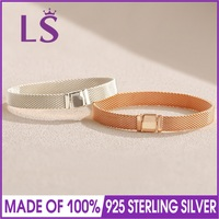 2018 Winter Collection 925 Sterling Silver Reflexions Bangle Bracelet Jewelry for Women Gift Regalos Para Mujer