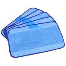 5-pack влажные салфетки из микрофибры для мытья моющиеся и многоразовые подкладки для швабры подходит для iRobot Braava 380 380 320 t 321 4200 мятный 4205 5200 52