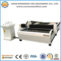 Hot sale! gantry type stainless steel, brass, carbon steel, aluminum cnc plasma cutting machine