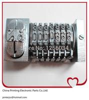 2 Pieces 51 Tablet Letterpress Numbering Machine Ticket Coding Machine Offset Printing Numbering Machine