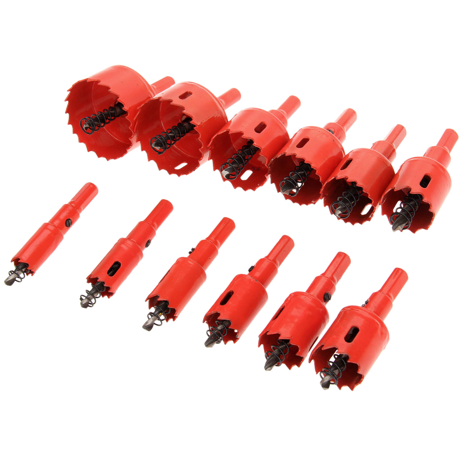 1Pc 16mm-53mm Drill Bit Hole Saw Twist Drill Bits Cutter Power Tool Metal Holes Drilling Kit Carpentry Tools for Wood Steel Iron 1pc 16mm carbide tip drill bit set hole saw cutter durable metalworking drilling tools for metal alloy high quality