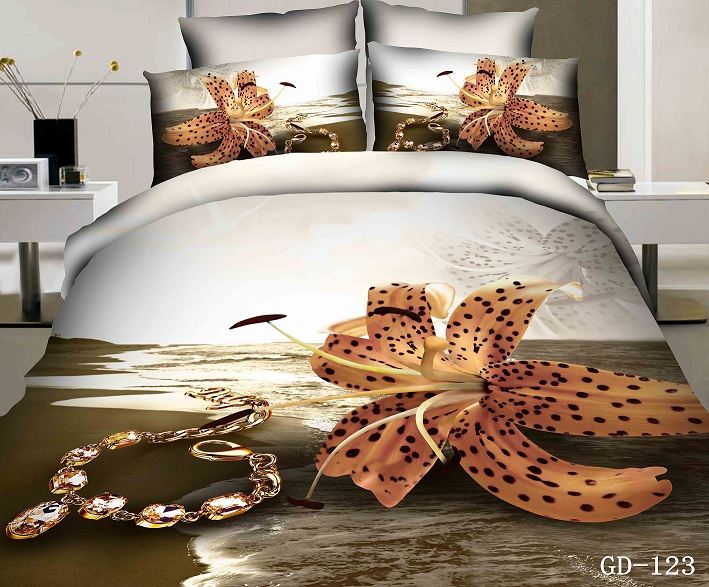 Beach Bedding Set Fl Sea Super King Duvet Cover Flat Ed Bed Sheets Bedspread Quilt Linen 100 Cotton 5pcs In Sets From Home